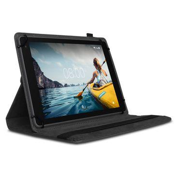 Tablet Hülle Medion Lifetab E10414 Tasche Schutzhülle Cover 360° Drehbar Schwarz – Bild 2