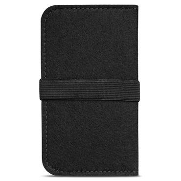 Handy Hülle für Samsung Galaxy A10 Filz Tasche Schutzhülle Filzhülle Cover Case – Bild 5