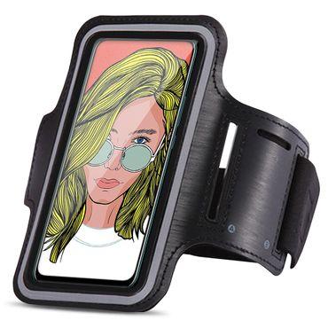 Handy Hülle für Huawei P smart Z Schutzhülle Jogging Tasche Armband Fitness Case – Bild 1