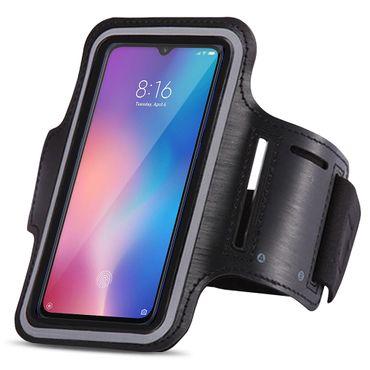 Handy Hülle für Xiaomi Mi 9 SE Schutzhülle Jogging Tasche Armband Fitness Case – Bild 1