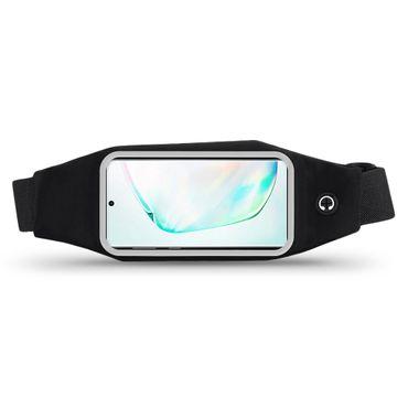 Handy Hülle Samsung Galaxy Note 10 Tasche Schwarz Bauchtasche Sport Schutzhülle – Bild 3