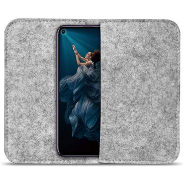 Handy Hülle Huawei Honor 20 Pro Filz Tasche Schutzhülle Schutz Cover Case Etui – Bild 9