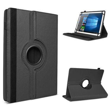 Lenovo Tab 2 A10-30 F Tablet Tasche Hülle Schwarz Cover Case Drehbar Schutzhülle