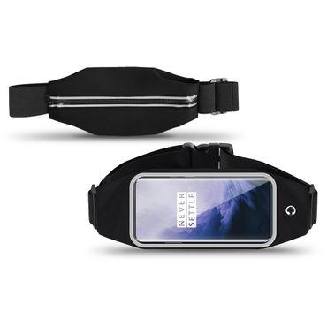 Handy Hülle OnePlus 7 Pro Tasche Schwarz Bauchtasche Sport Fitness Schutzhülle – Bild 1