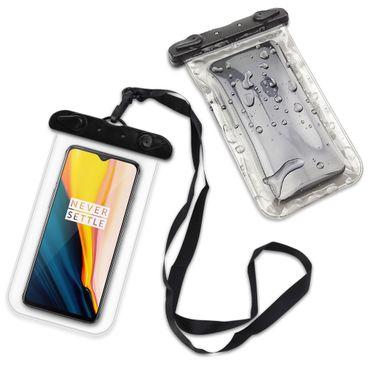 Hülle Wasserdicht OnePlus 7 Schutzhülle Wasser Tasche Handy Schutz Strand Case – Bild 9