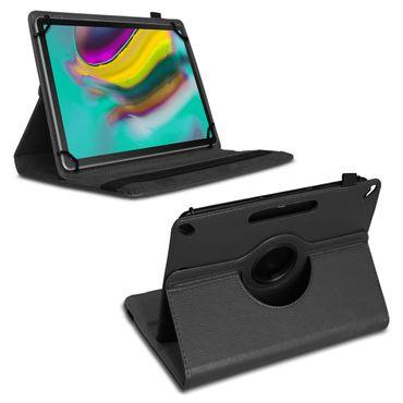 Schutzhülle Samsung Galaxy Tab S6 Tasche Hülle Tablet 360 Drehbar Case Schwarz – Bild 4