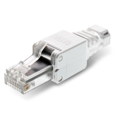 10x Netzwerkstecker CAT6A RJ45 Netzwerk Werkzeuglos CAT 5 5e 6 7 LAN Patch Kabel – Bild 2