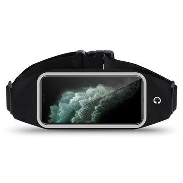 Schutzhülle Apple iPhone 11 Pro Tasche Schwarz Jogging Handy Hülle Fitness Case – Bild 1