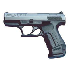 Walther P99 9mm PAK Gas-Signalwaffe brüniert