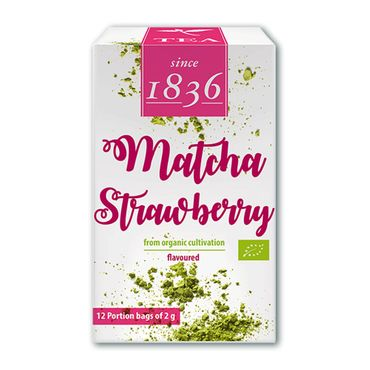 Matcha Strawberry Bio (12 x 2g)