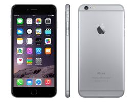 Apple iPhone 6 Plus Smartphone (5,5 Zoll (14 cm) Touch-Display, 128 GB Speicher, iOS 8) grau  – Bild 2
