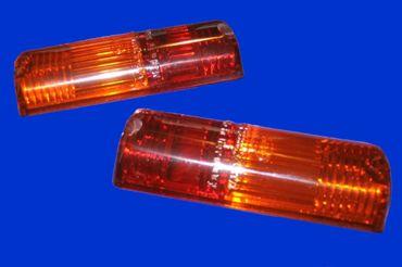 2 Stck Rücklichtkappe Kappe für Rücklicht Rückleuchte Rücklichtglas 9EL089527-001 MF Rücklicht 100er Serie