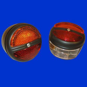Hella Rückleuchten Set, Zweikammerleuchte, 2 Stück je 1 x mit / ohne Kennzeichenbeleuchtung K 23260 – Bild 1