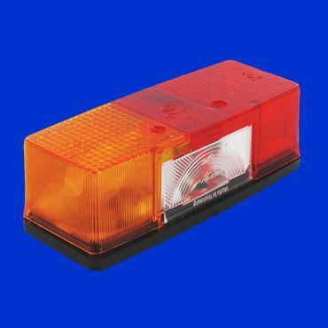 Hella Rücklicht, Rückleuchte für Deutz 07 Serie E1 53253, links oder rechts – Bild 1