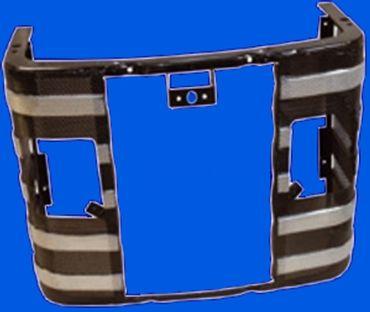 Frontgrill mit Scheinwerferöffnung für MF 165, 168, 175, 185, 188