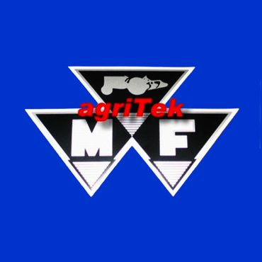 Massey Ferguson Logo, 63 x 100 mm Aufkleber,  888853M1 * – Bild 1