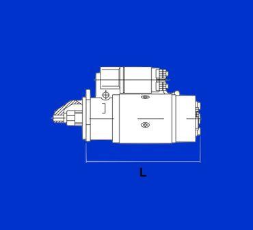 Anlasser Ferguson TEA 20, FE 35 9 Zähne127mm 2 Loch Starter 25038, LRS101, M35G1 – Bild 2