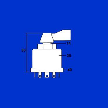 Blinkerschalter Schalter für Blinker Massey Ferguson Vergl. Nr. 881670M1 * – Bild 3