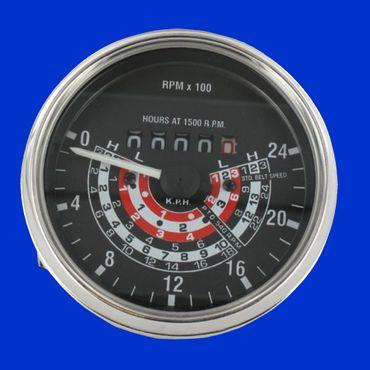 Traktormeter für Massey Ferguson 35 rechtsdrehend km/h A3.152 bis SNr. 307657