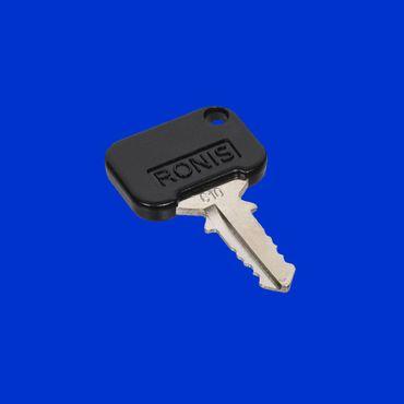 Schlüssel, Ersatzschlüssel fürTürschloß Massey Ferguson Schloß 5400, 6100 - 6400, 7400, 8100 - 8400 3902584M91 *
