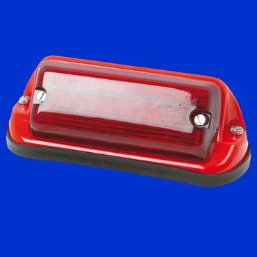 Rückleuchte rot, Zweikammerleuchte, links oder rechts, Schlusslicht, Rücklicht – Bild 1