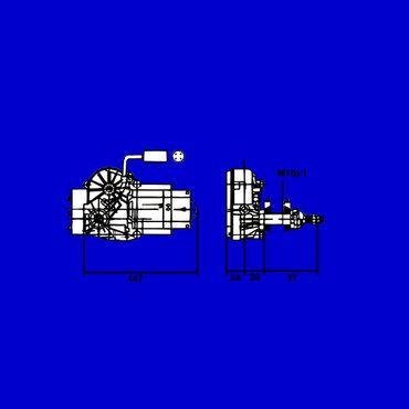 Scheibenwischermotor John Deere 1640, 2040, 3040, 3140 + 50er Serie AL34846 * – Bild 3