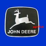 Emblem, Logo, Kühlerfigur, Markenschild, Firmenschild John Deere  Vergl. R82804 001