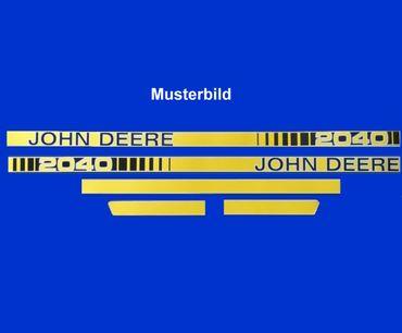 John Deere 1040 Haubenaufkleber, Aufkleber Motorhaube, Schriftzug, Typenbezeichnung, Modell, Serie