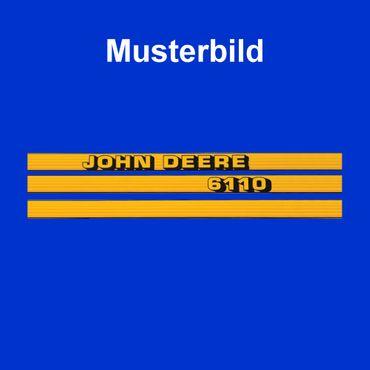 John Deere 6510 Haubenaufkleber, Aufkleber Motorhaube, Schriftzug, Typenbezeichnung, Modell, Serie