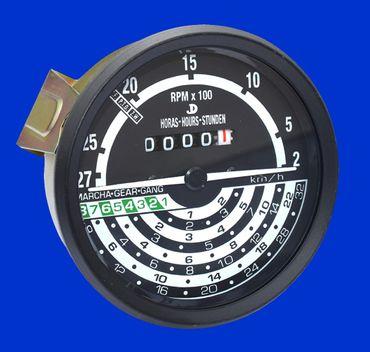 32 km/h Traktormeter, Tacho, Kilometerzähler für John Deere 20 + 30 Serie AL30800 * – Bild 1