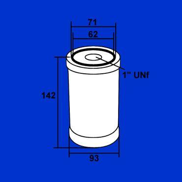 Ölfilter für Deutz 06, 07, DX, Aufschraubfilter, Filter, Motoröl 01174418 * – Bild 2