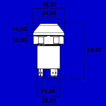 Begrenzungslicht, Parklicht, Schalter Lichtschalter Deutz DX Vergl Nr 01177164 * – Bild 3