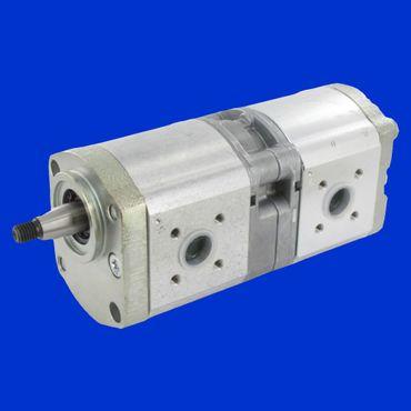 dopp. Hydraulikpumpe 16 + 14 ccm Ölpumpe Pumpe für Hydraulik von Fendt,  Case; Deutz DX