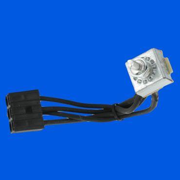 Gebläseschalter, Lüftung, Schalter, Gebläse, Kabinenbelüftung, Drehschalter Case IHC  92100C2*