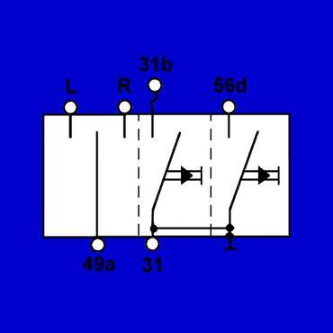 Case, IHC, Lenkradschalter, Blinkerschalter, Multifunktionsschalter 12° gebogen – Bild 2