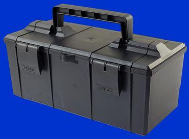 Werkzeugkiste aus Kunststoff New Holland, Case, Fiat, 285x105x105mm innen unten