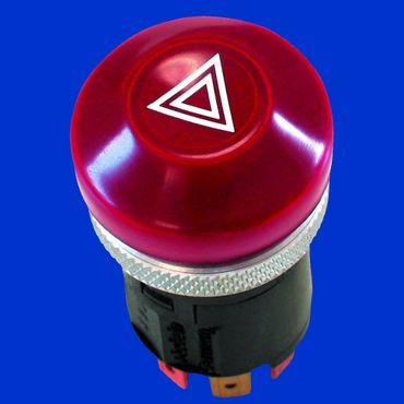 Warnblinkschalter für Fiat, Ford, New Holland, Hella Schalter Warnblinker 5122659