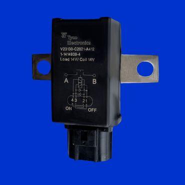 Magnetschalter, Relais f New Holland T4 - T7 + T4000 - T7000, Vergl 87392809, * – Bild 1