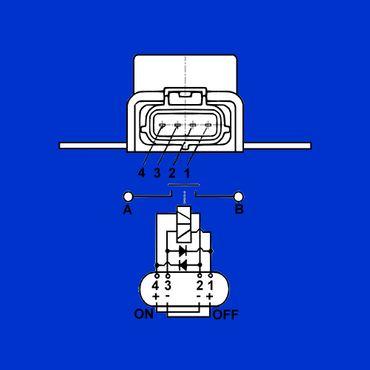 Magnetschalter, Relais f New Holland T4 - T7 + T4000 - T7000, Vergl 87392809, * – Bild 2