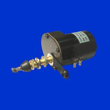 Wischermotor, Scheibenwischermotor, 12V 85 Grad, Konus 8mm, Mutter M6 mit Schalter – Bild 1