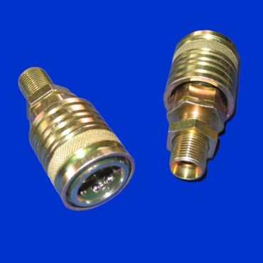 Hydraulikmuffe, BG3, 8 L, M14x1,5 Schott, Hydraulikkupplung, Muffe, Hydraulik – Bild 2