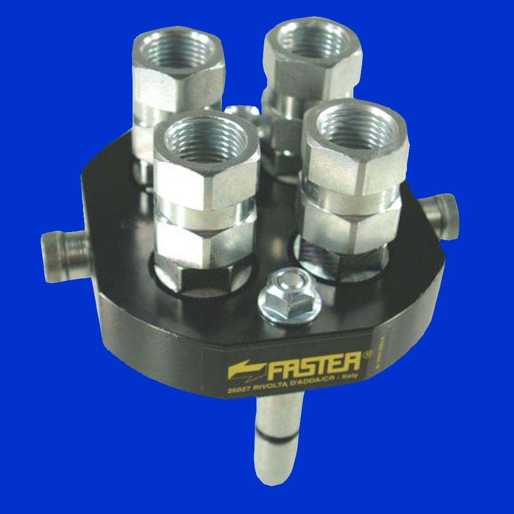 Super 4 fach Faster Hydraulikkupplung Mobilteil 2P506412GMC   agriTek #ET_54