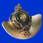 2 Stück Unterlenker Fangschale, Kat 3 - 3, Aussen 64 mm, Innen 38 mm, Fangprofil  Kugel   001