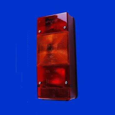 eckiges Rücklicht, Rückleuchte links 246 x 108mm, BBSKN246L mit Nebelschlußleuchte – Bild 1
