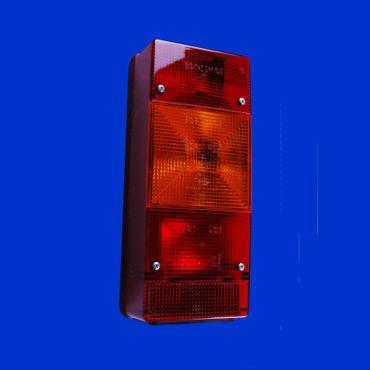 eckiges Rücklicht, Rückleuchte rechts 246 x 108mm BBSKN246R mit Nebelschlußleuchte – Bild 1