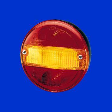 Hella Rücklicht D 140mm ohne Kennzeichenbeleuchtung 2SD001685-211, E12 7146 – Bild 1