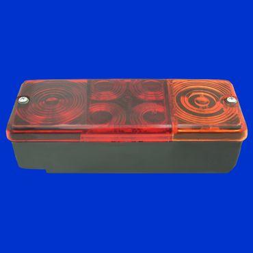 Rücklicht 83 x 210mm ohne Kennzeichenbeleuchtung für Anhänger HW 60, 80 u andere