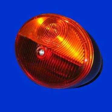Hella Rücklicht Zweikammerleuchte oval 105 x 79mm ohne Kennzeichenbel  K23256, 2SB001673002 – Bild 1