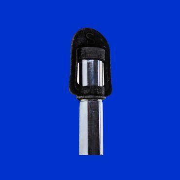 Aufsteckhalter zum Anschweißen mit Steckdose für Rundumleuchte