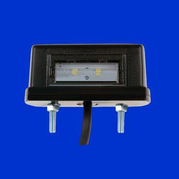 LED Kennzeichenleuchte mit 2 LED für 12 – 24V, extrem lange Lebensdauer